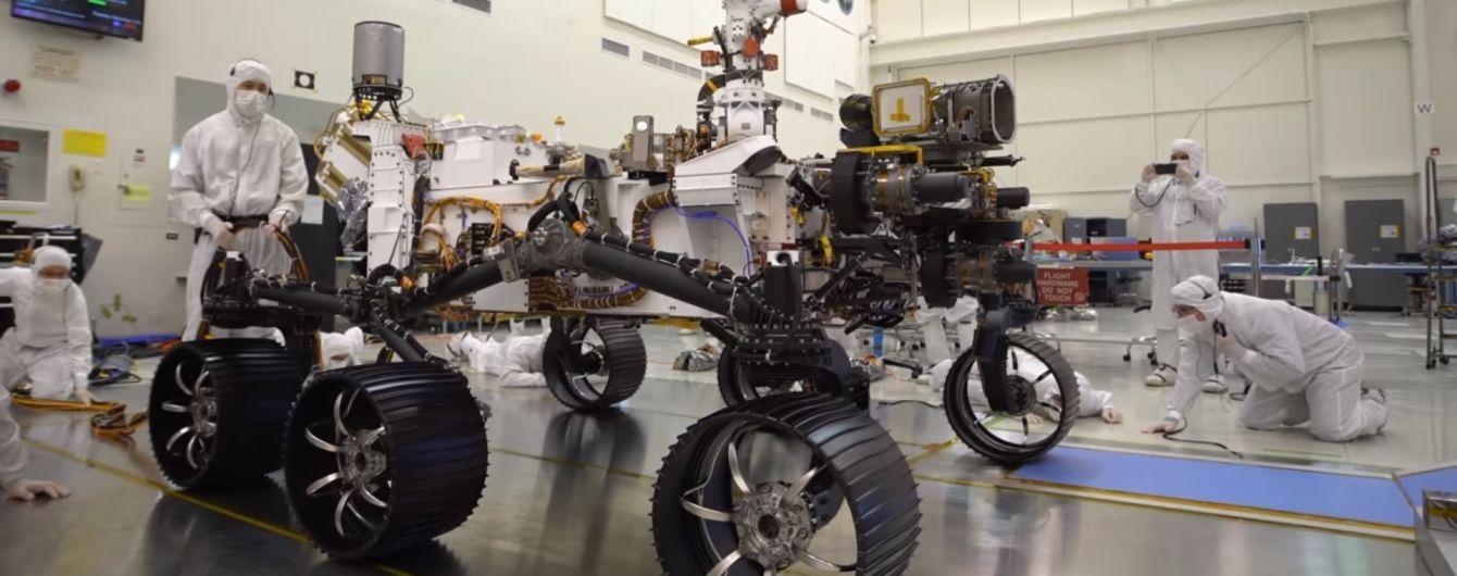 NASA вперше показала в дії новий марсохід