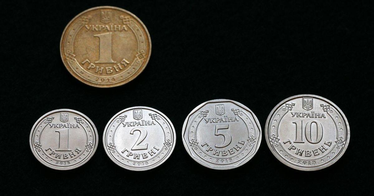 С сегодняшнего дня в Украине появятся монеты номиналом 5 гривен