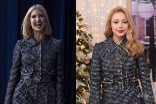 Битва нарядов от Dolce & Gabbana: Иванка Трамп vs Тина Кароль