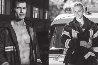 Стальные мышцы и искренние улыбки. Киевские пожарные сделали горячий календарь на 2020 год