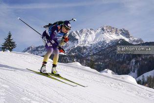 Биатлон. Пидгрушная остановилась в шаге от медали на Чемпионате мира в Антхольце