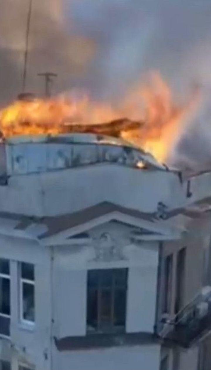 Правительственная комиссия назвала причину масштабного пожара в Одесском колледже