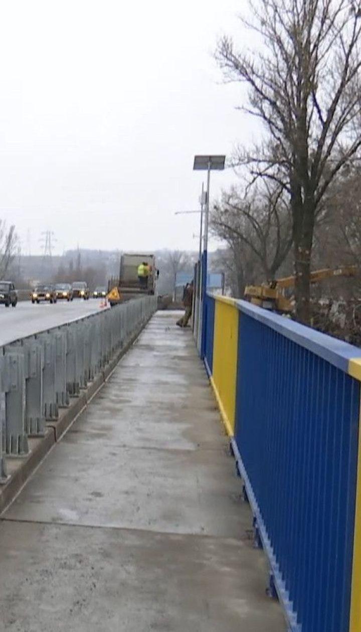 У Харкові після ремонту відкрили автомобільний міст через залізницю