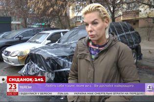 """Спалене вщент авто: хто і за що міг помститися співзасновниці ГО """"Батьки SOS"""" Олені Парфьоновій"""