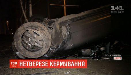 Пьяные аварии: нетрезвые водители спровоцировали ДТП в нескольких городах Украины