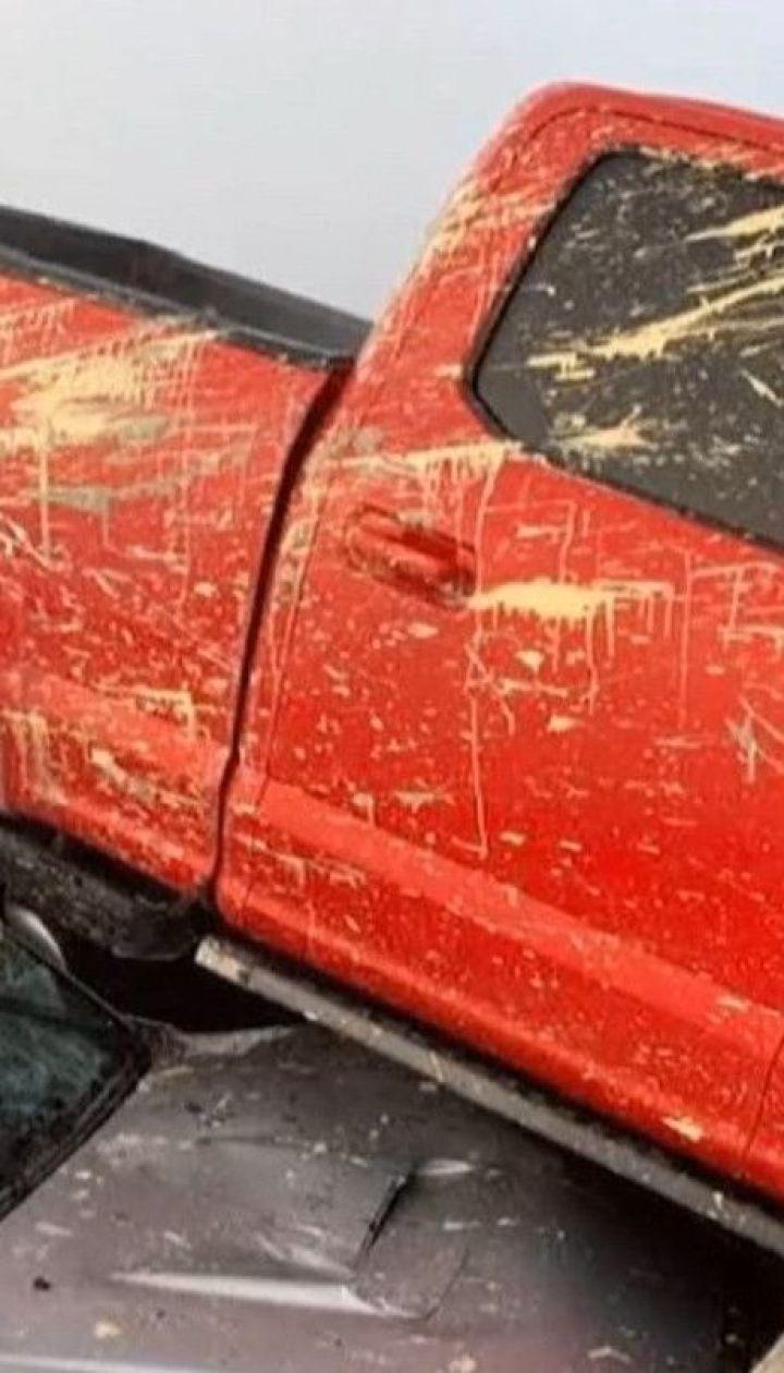 Из-за тумана и скользкой дороги в США столкнулись сразу 63 авто