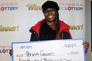 Американка виграла сто тисяч доларів завдяки помилці у комбінації
