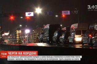 Пограничники прогнозируют, что за сегодня очереди на украинско-польской границе должны исчезнуть