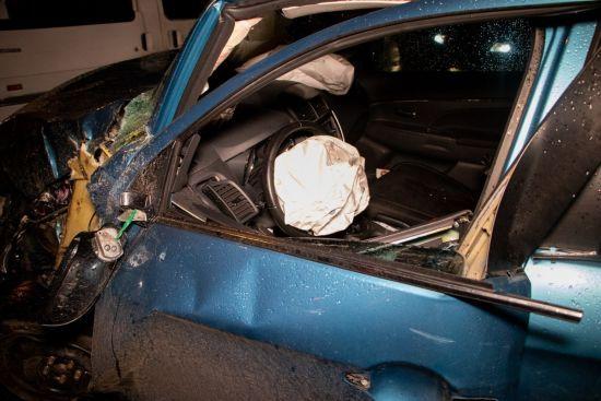 У Києві п'яна жінка влаштувала подвійну аварію: шестеро осіб у лікарні