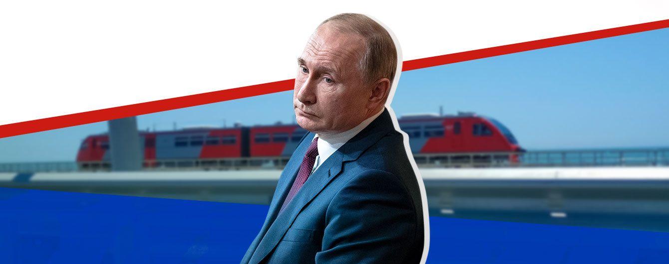 Путин и поезд