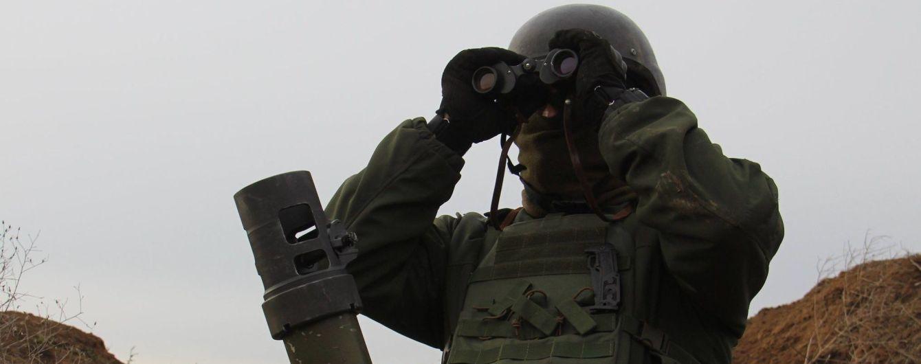 Ситуация на Донбассе. Боевики накрыли минометным огнем украинские позиции