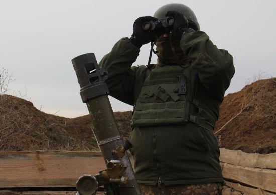 Російські найманці на Донбасі обстріляли українські позиції з протитанкових ракетних комплексів