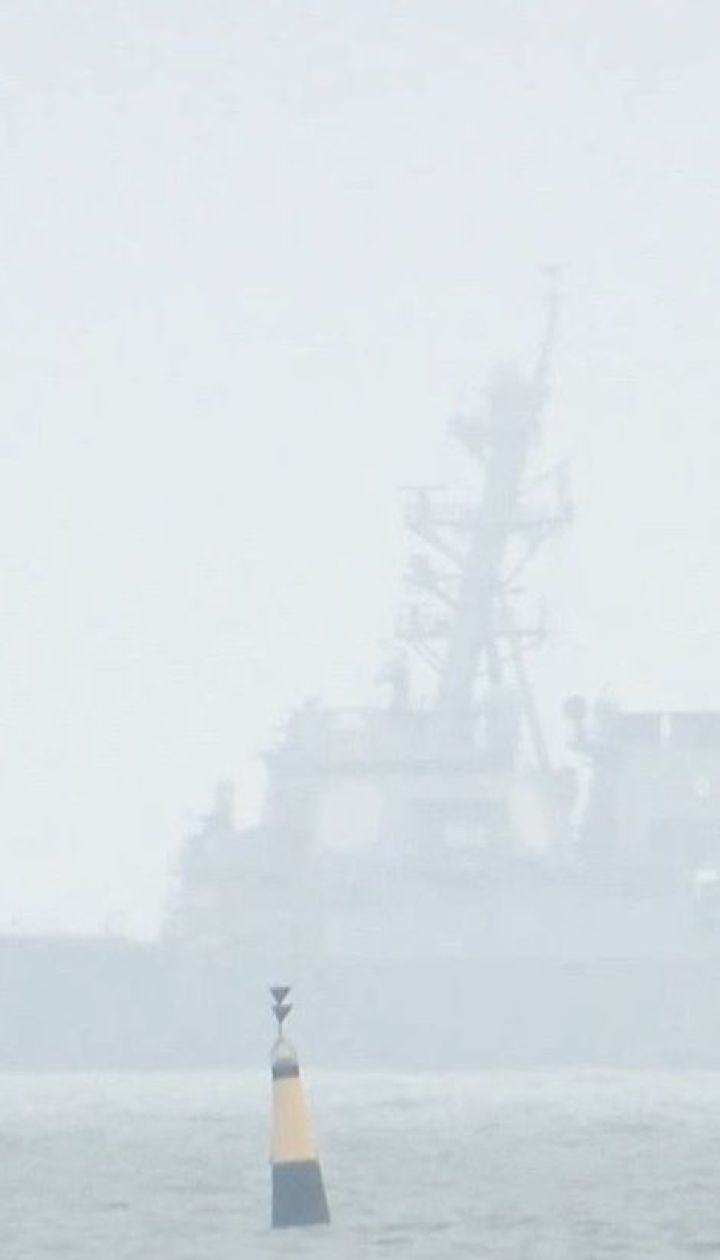 Российские бомбардировщики имитировали ракетный удар по эсминце США в Черном море