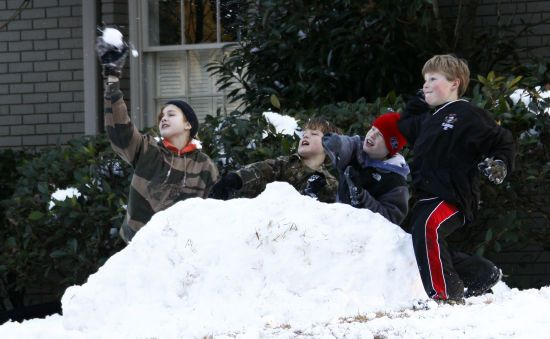 В американському місті можуть дозволити грати у сніжки після 57-річної заборони