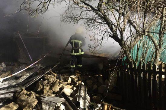 На Полтавщині вибухом зруйнувало житловий будинок, загинула жінка