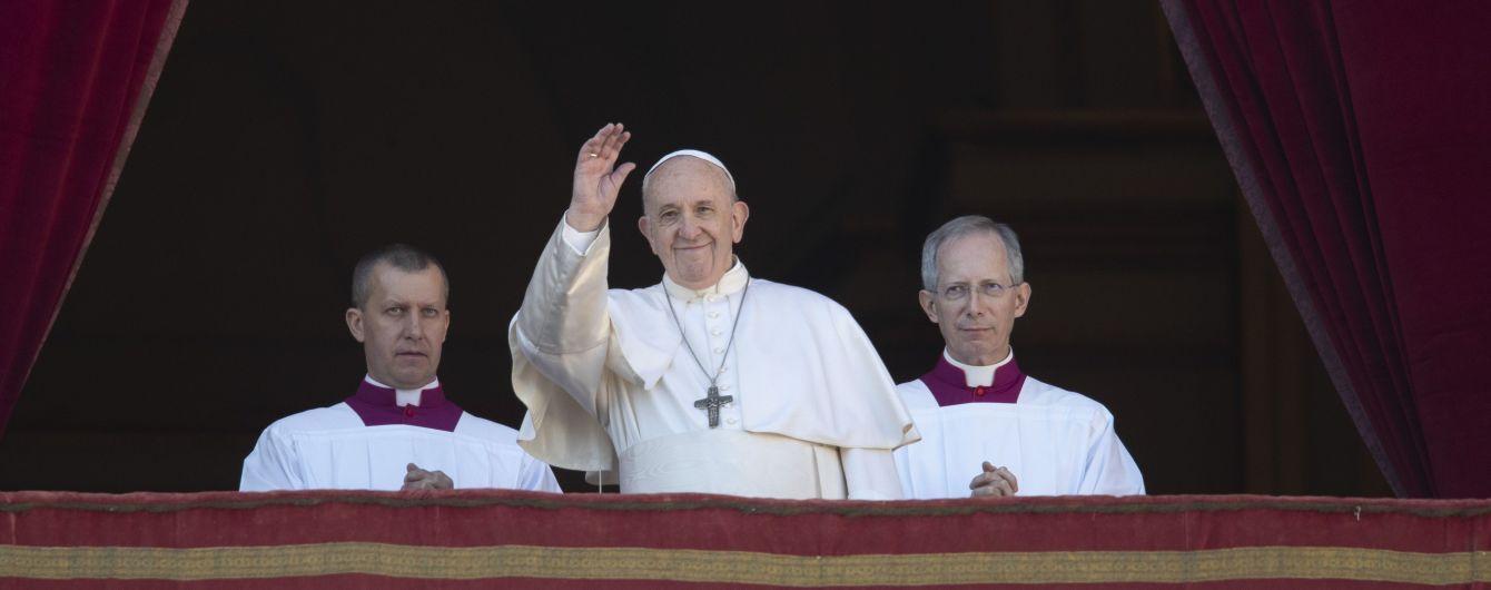 Папа Римський привітав християн східного обряду зі святом воскресіння Христа