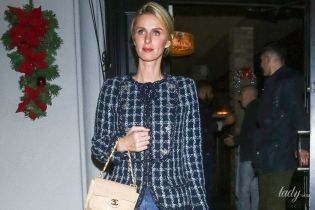 С сумкой Chanel и в джинсах-скинни: Ники Хилтон попала в объективы уличных фотографов