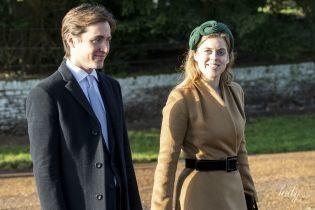 Вперше з коханим: принцеса Беатріс і Едоардо Мопеллі Моцці на службі в Сандрінгемі