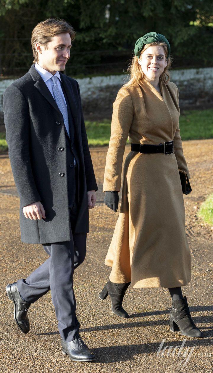 Принцеса Беатріс и Едоардо Мопеллі Моцці