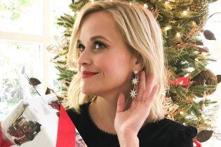 Возле елки и в семейном кругу: Риз Уизерспун показала, как встретила Рождество