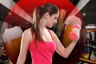 Почему нельзя совмещать тренировки и алкоголь