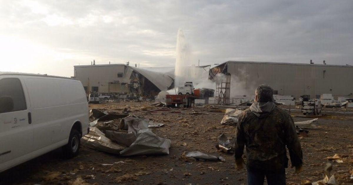 В США на авиазаводе взорвалась линия с жидким азотом, есть пострадавшие