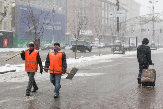 У неділю в більшості областей синоптики обіцяють сніг. Прогноз погоди на 29 грудня