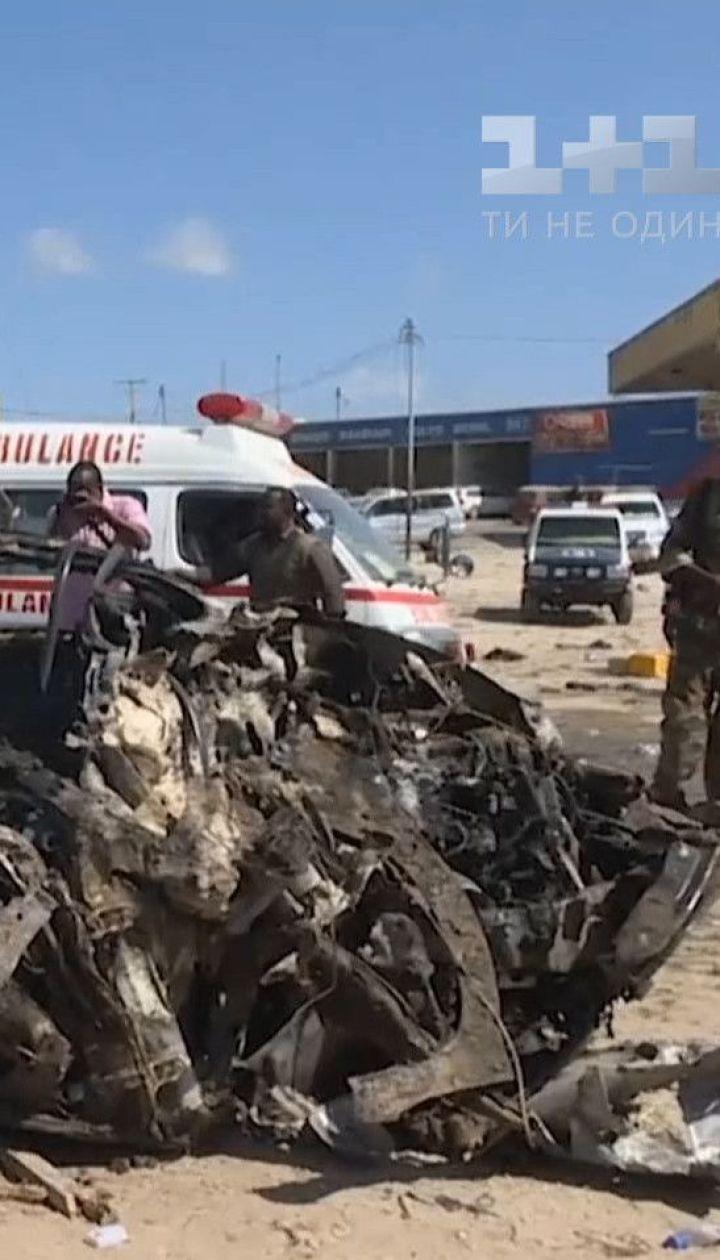 Минимум 90 человек погибли во время теракта в Сомали
