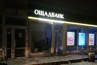 В Виннице посреди ночи подорвали отделение банка. Полиция ищет злоумышленника