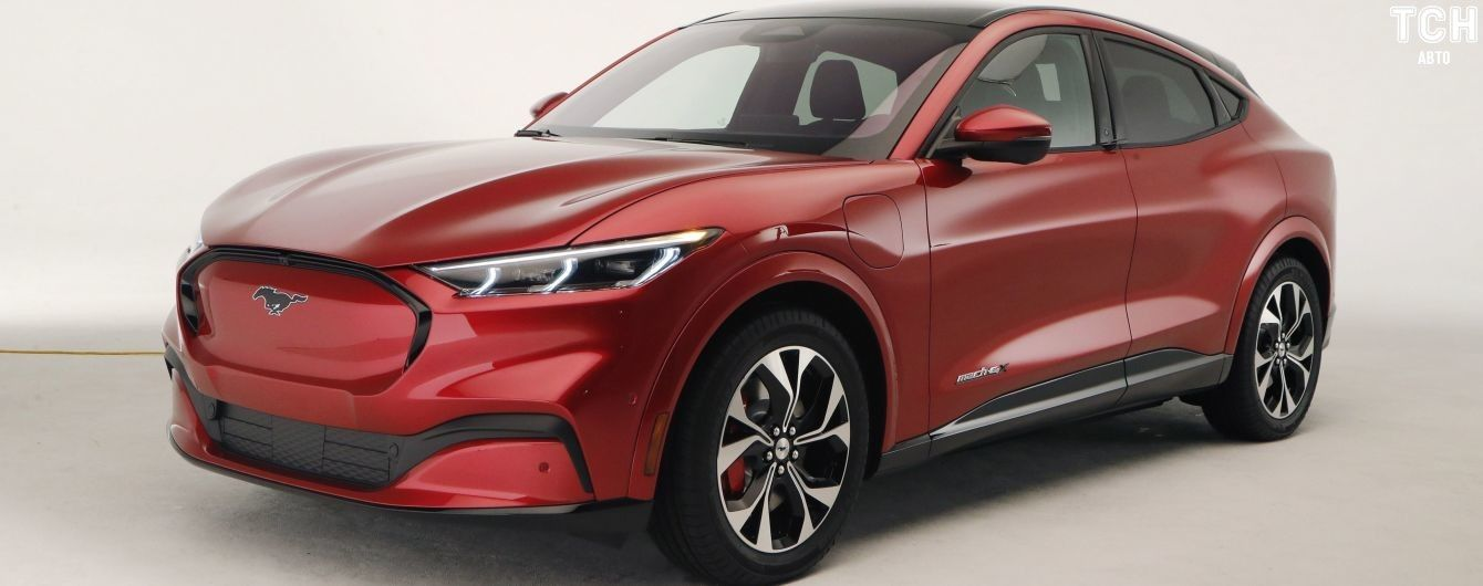 Ford розповів, як зміниться електрокар Mustang в Європі
