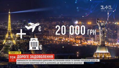 Де дешевше: ТСН порівняла витрати на святкування Нового року в Україні та Франції