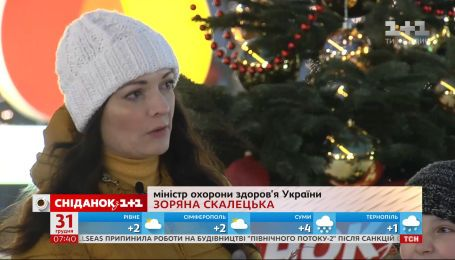 Министр здравоохранения Украины Зоряна Скалецкая о главных задачах 2020 года