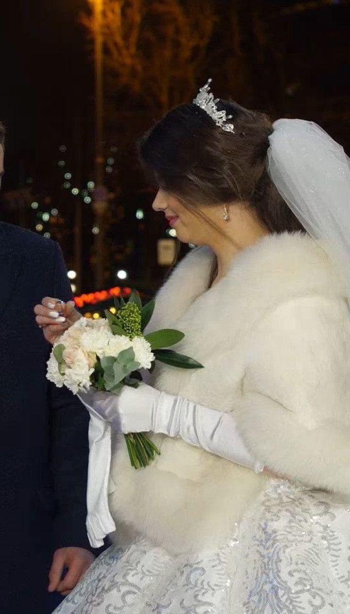 Торжественная церемония: в центре столицы поженились Андрей Эйдер и его невеста Марина