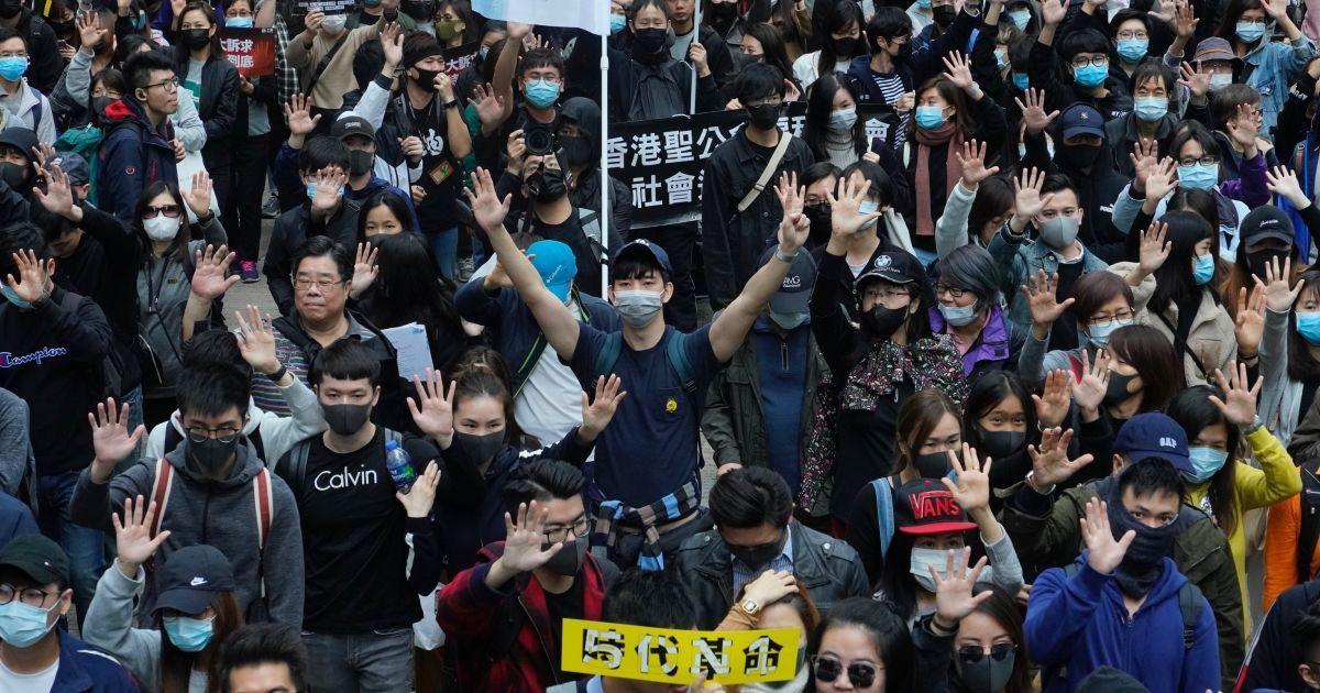 Гонкконг, Китай, вуличні протести @ Associated Press