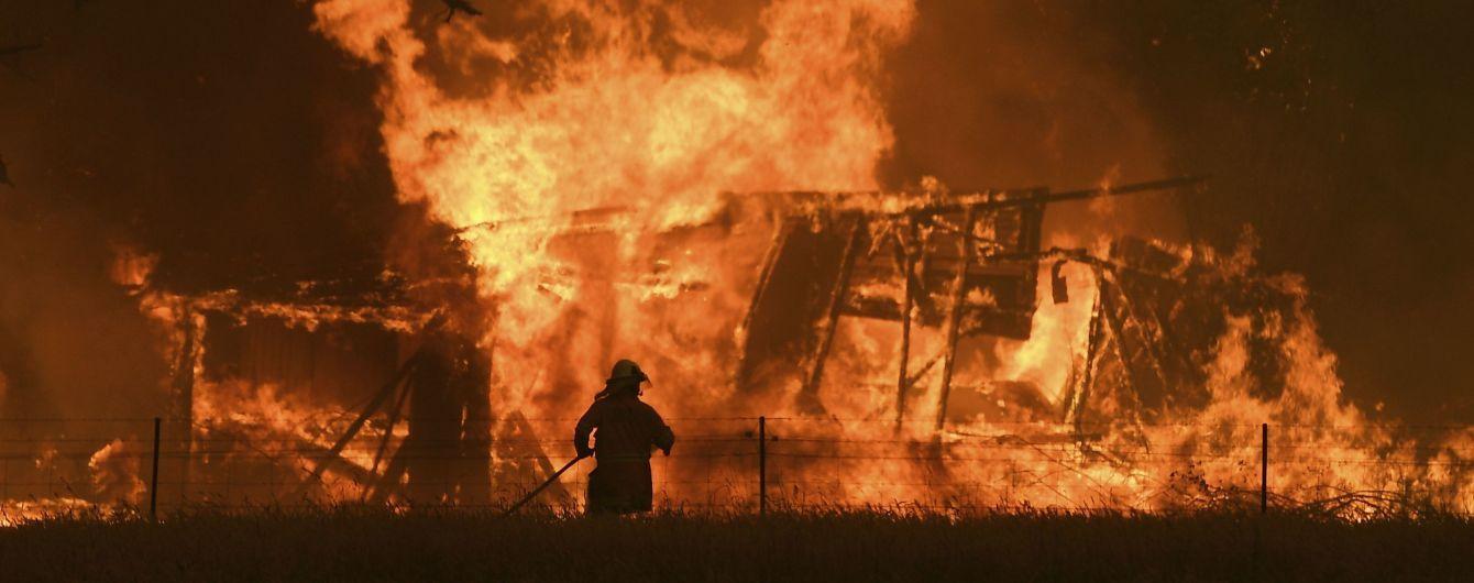 За первые сутки года в Украине в пожарах погибли 15 человек