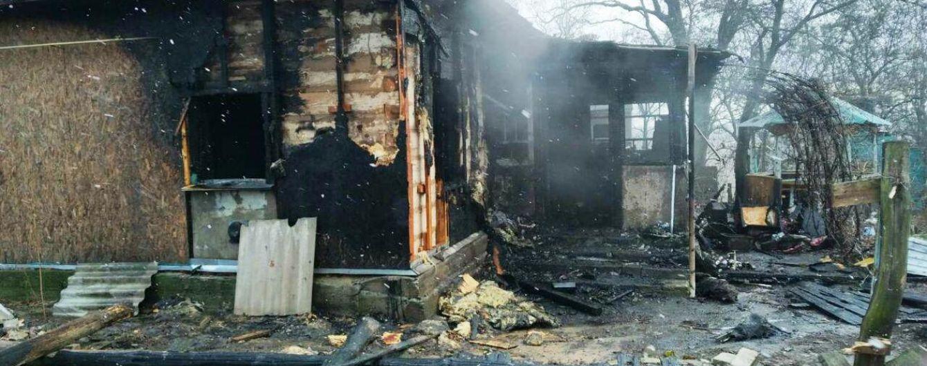 На Черниговщине в собственном доме сгорел мужчина