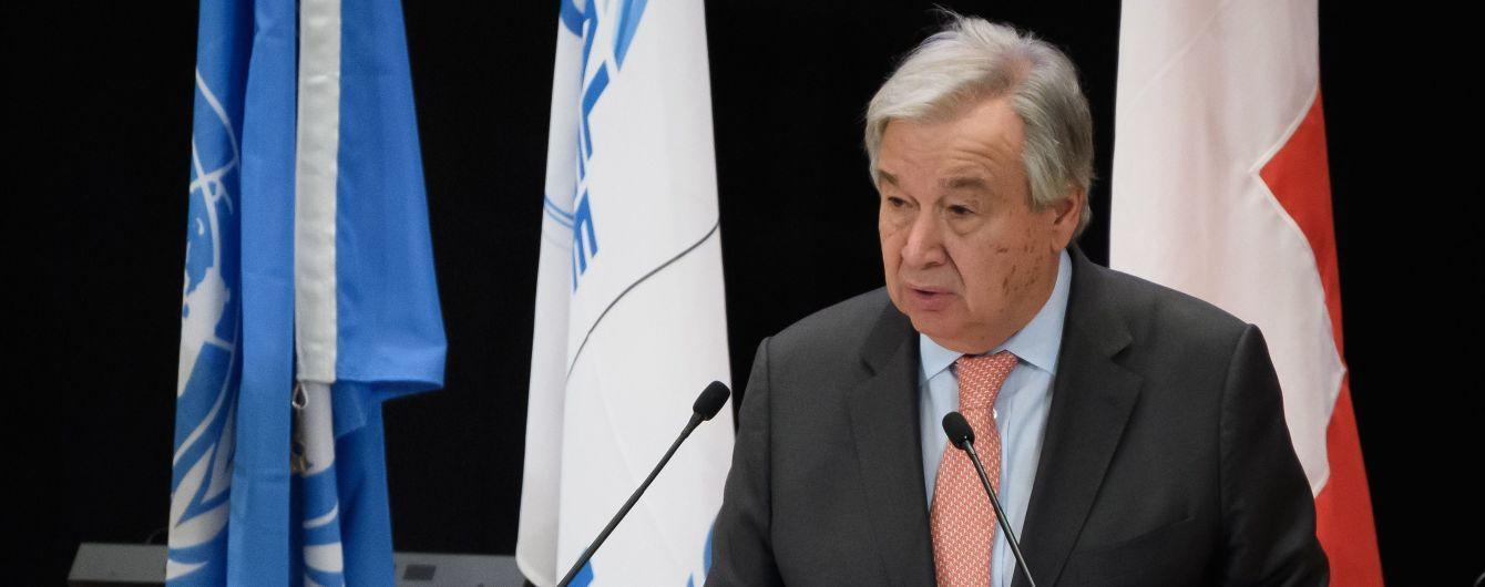 Генсек ООН анонсував засідання військового комітету щодо ситуації в Лівії