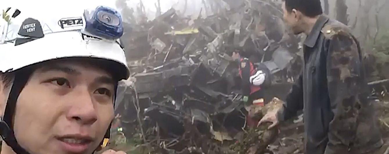 На Тайване разбился военный вертолет с руководством армии