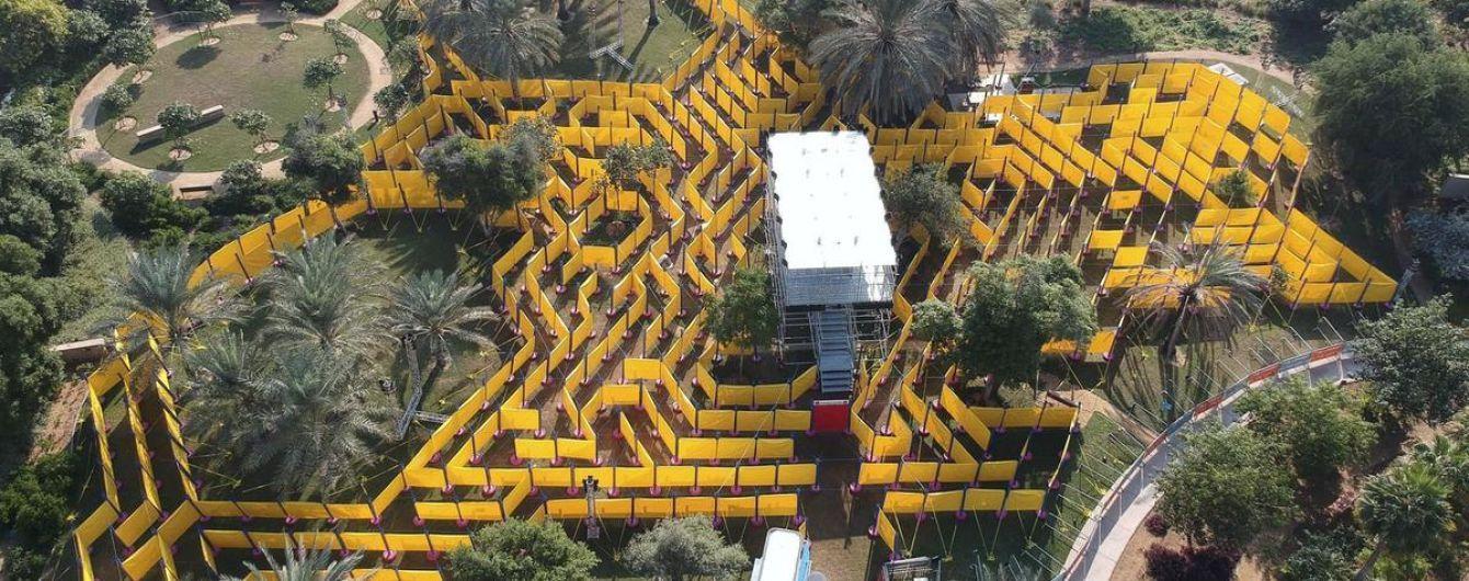 В Абу-Дабі відкрили новий атракціон