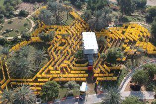 В Абу-Даби открыли новый аттракцион
