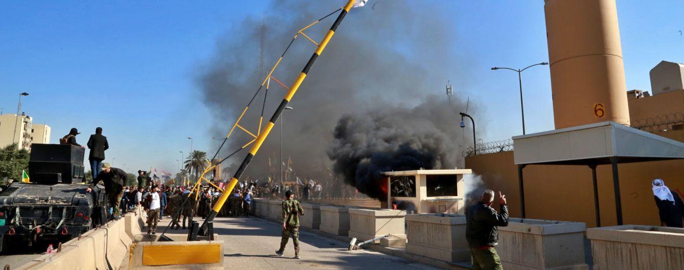 МИД Украины осудил нападение на американское посольство в Багдаде