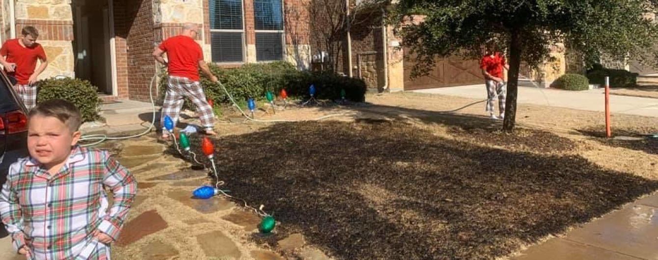 В США мальчик попросил в подарок лупу и с ее помощью сжег двор