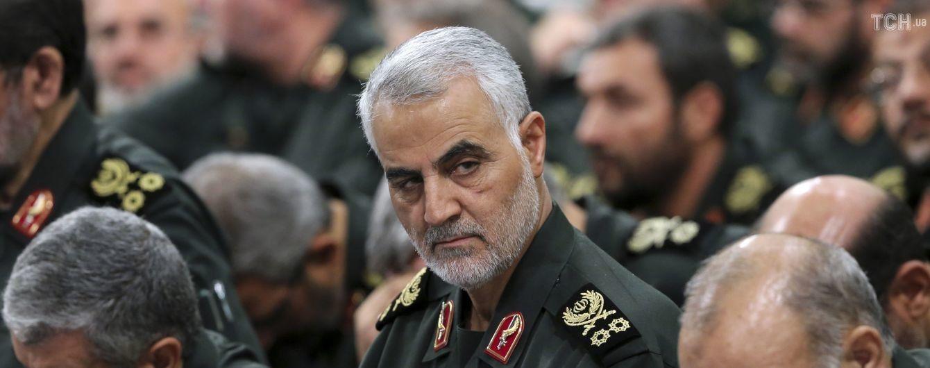 США ліквідували іранського генерала Сулеймані під час ракетного удару по Багдаду