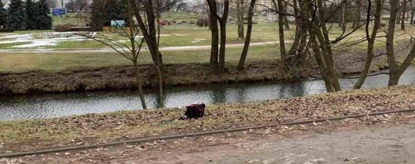 У центрі Мінська в річці виловили сумку з кінцівками людини
