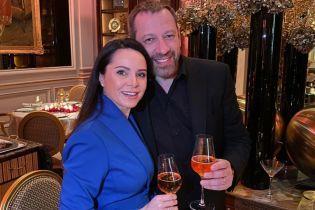 Лілія Подкопаєва показала, як святкувала Новий рік у Парижі з коханим чоловіком
