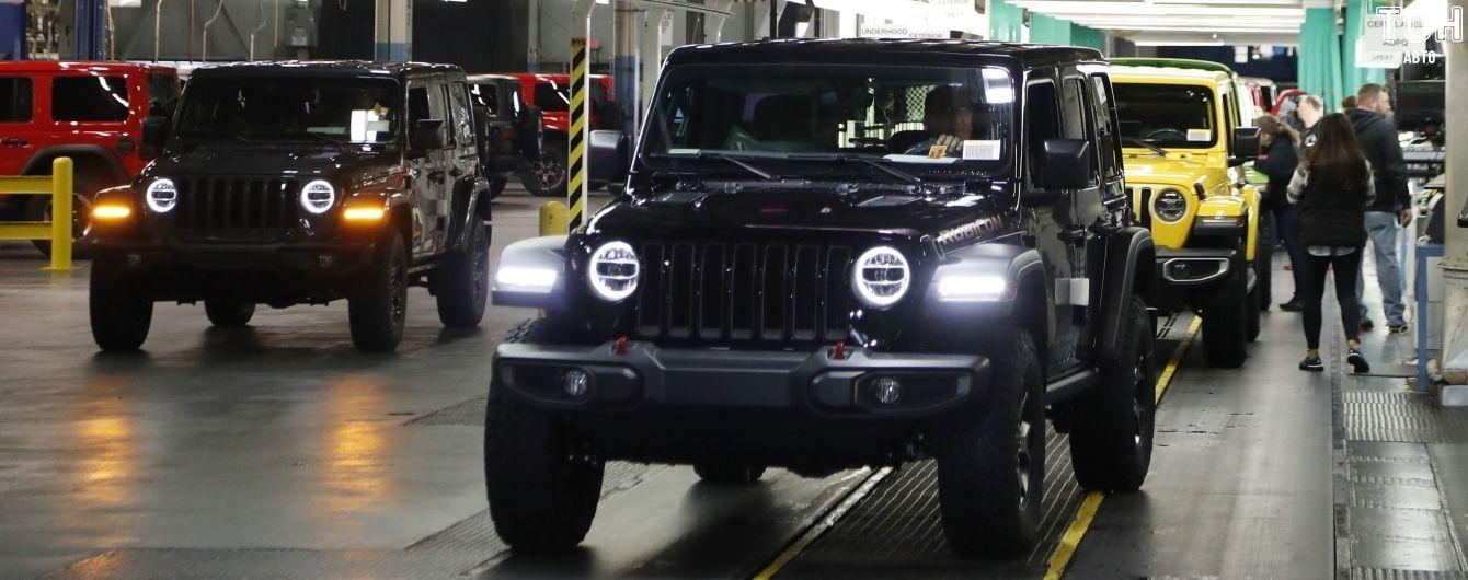 Jeep представит сразу три гибридных внедорожника