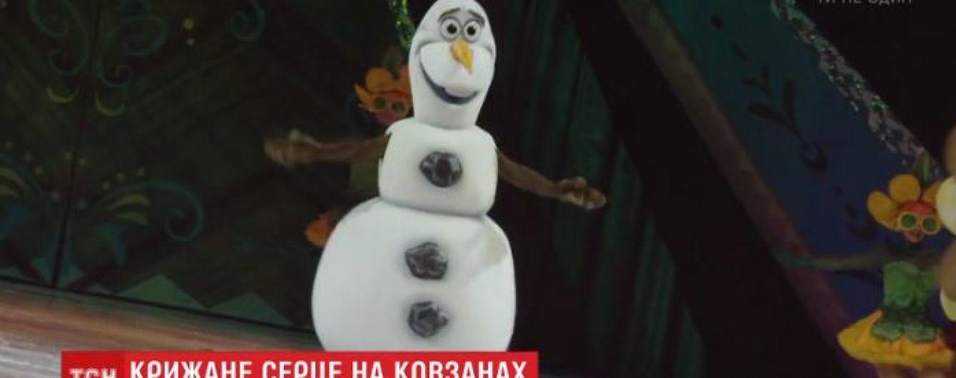 До Києва привезли найвідоміше світове льодове шоу за мотивами мультику Діснею