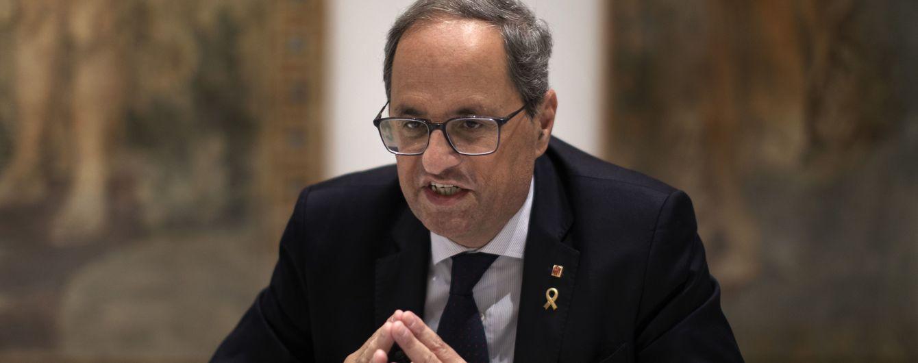 Каталонського очільника уряду позбавили мандата і заборонили обіймати держпосади