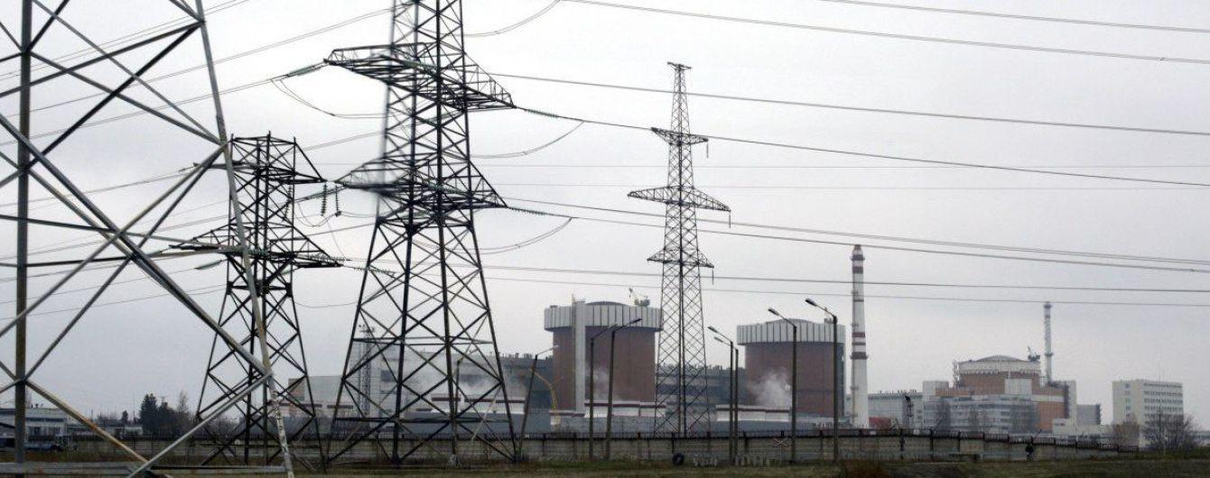 На Южно-Украинской АЭС экстренно остановили один из энергоблоков