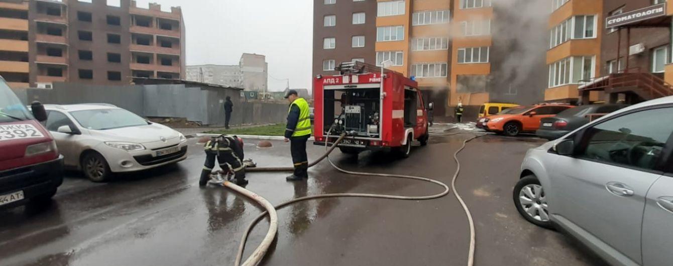 В Ровно в многоквартирном жилом доме произошел взрыв